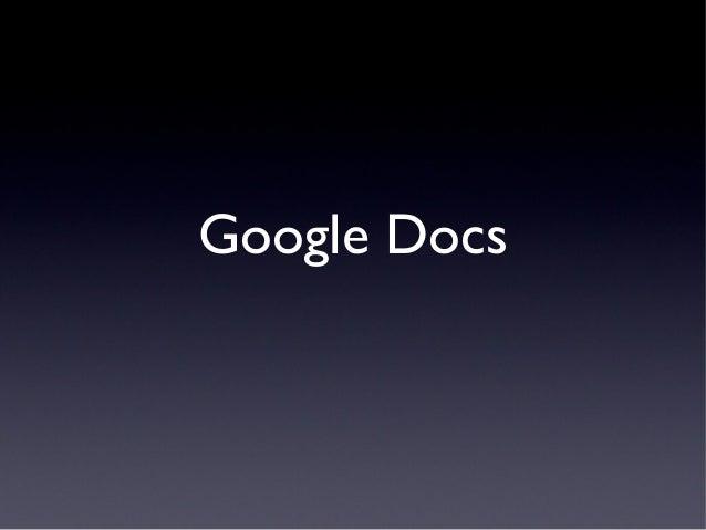 Google workshop pp