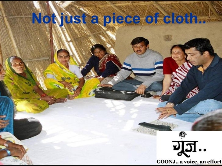 GOONJ:  Not Just A Piece Of Cloth