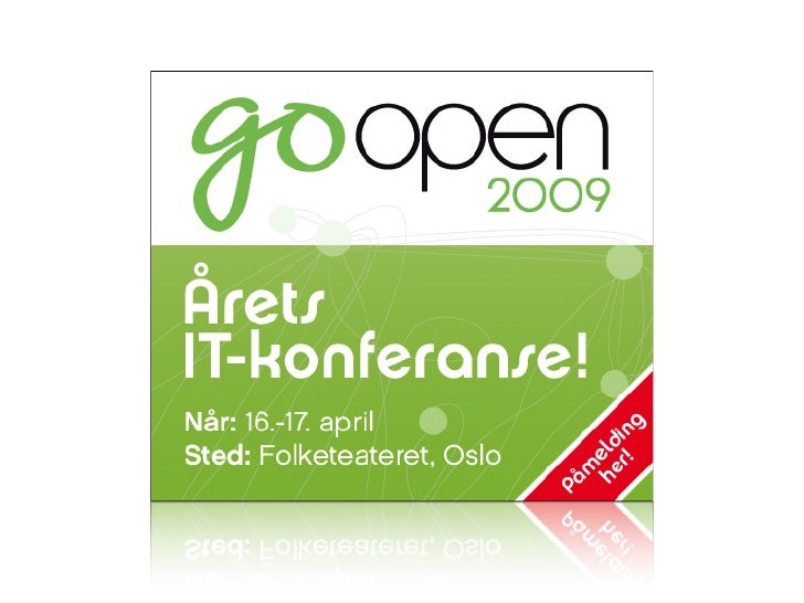 GoOpen/Nordic Perl Workshop 2009