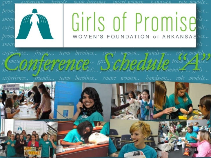 Girls of Promise-Schedule A