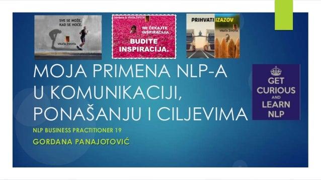 Sertifikacioni rad - Gordana Panajotovic
