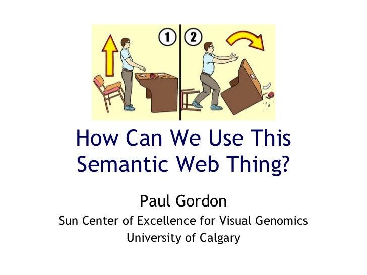 Gordon Semantic Web 2008
