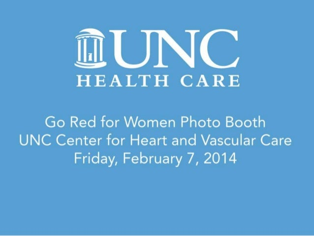 UNC Center for Heart and Vascular Care Go Red for Women 2014
