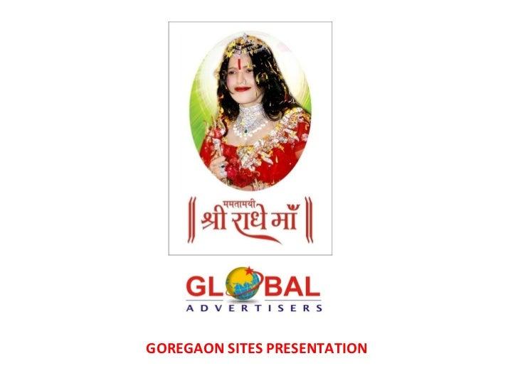 GOREGAON SITES PRESENTATION