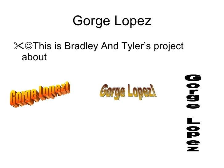 Gorge Lopez