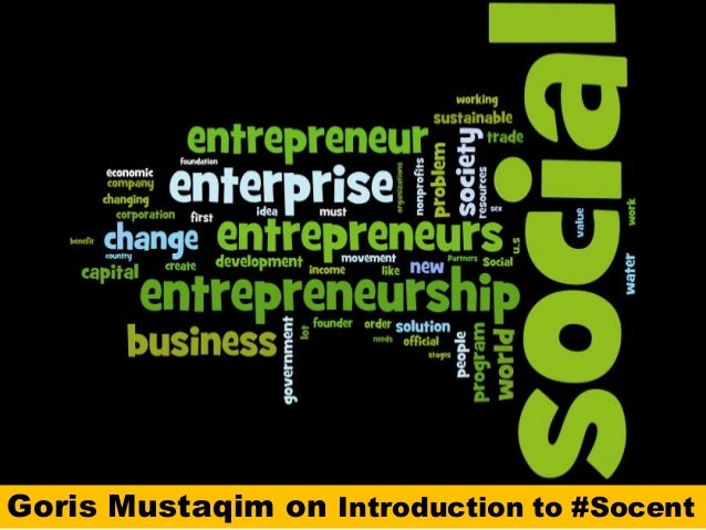 Goris Mustaqim on Introduction on #Socent