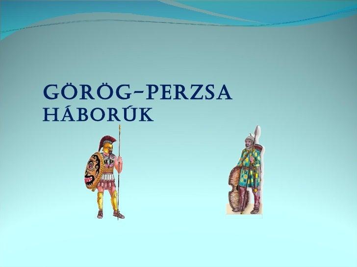 Görög-perzsa háborúk