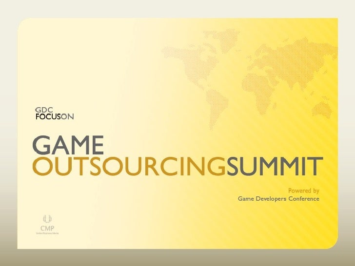 Game Outsourcing Summit 2006 Keynote