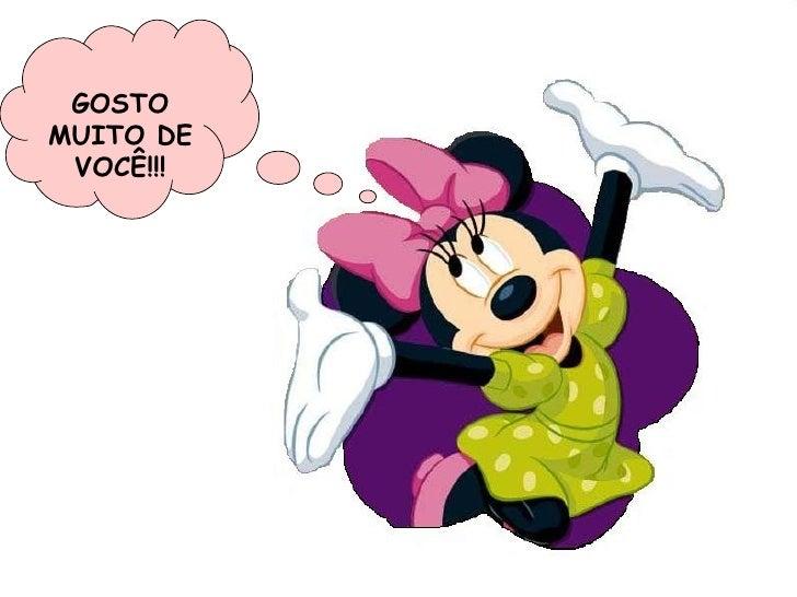 GOSTO MUITO DE VOCÊ!!!