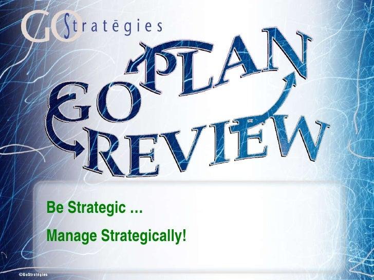 GOStrategies Overview
