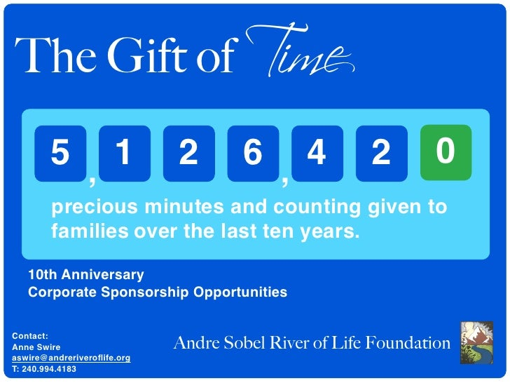 The Gift of Time         5 , 1                2        6 , 4           2        0         precious minutes and counting gi...
