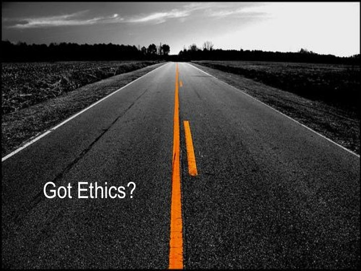 Got ethics - Ethical options