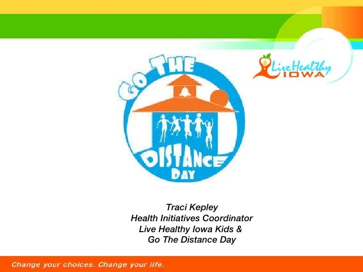 Go The Distance Day Presentation