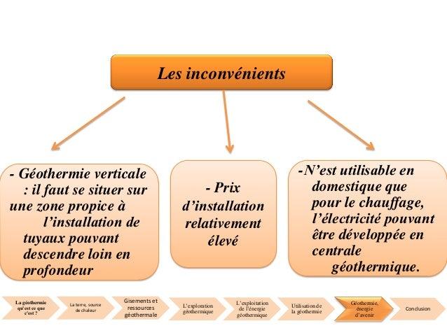 G othermie exploration et potentiel d exploitation - Centrale hydraulique avantages et inconvenients ...