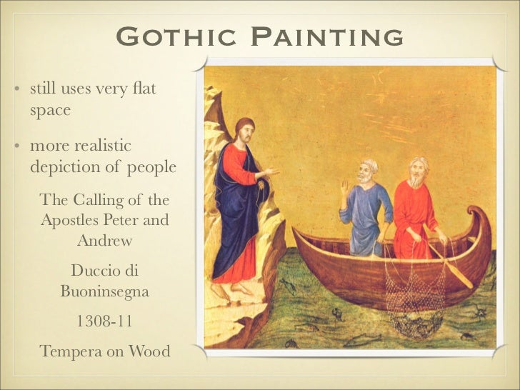 art during the gothic period Architecture was the most important and original art form during the gothic period  the principal structural characteristics of gothic architecture arose out of.
