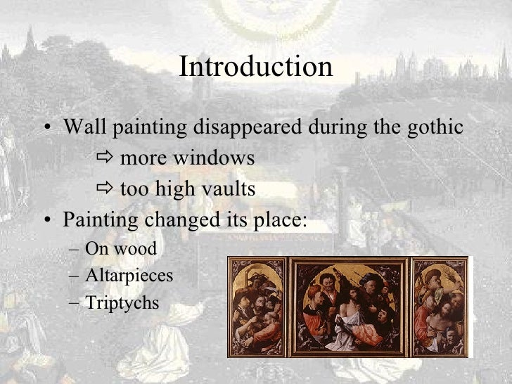gothic painting essay Gothic essays: over 180,000 gothic essays, gothic term papers, gothic research paper, book reports 184 990 essays, term and research papers available for unlimited access.