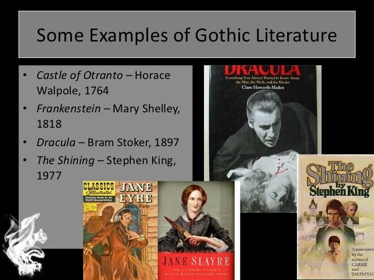 gothic literature dracula and frankentstein