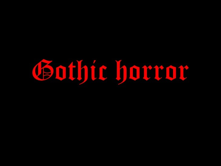 horror film genre essay