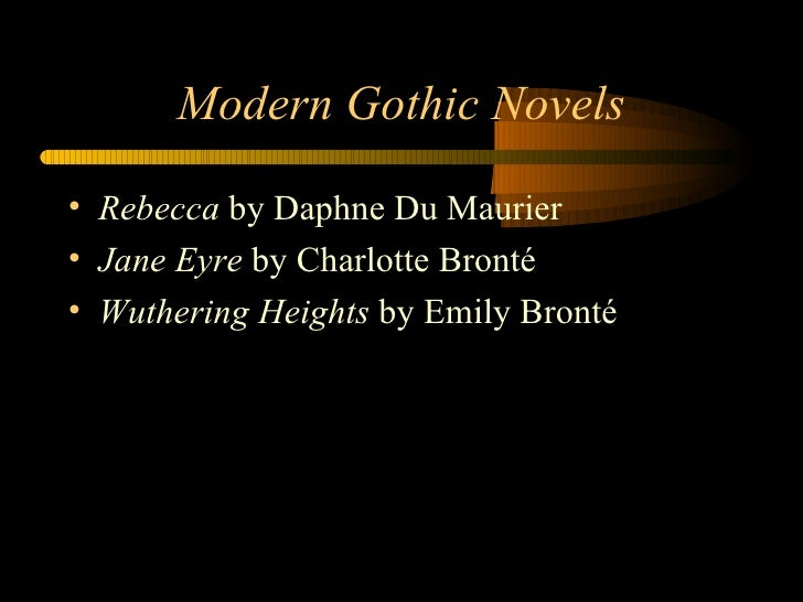 elements of gothic literature pdf