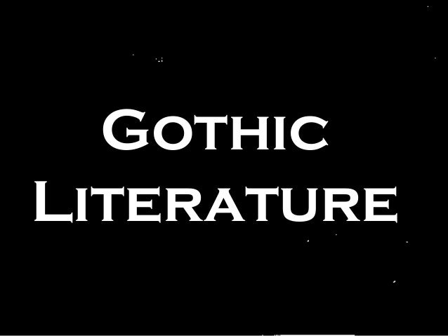 Gothic literature introduction