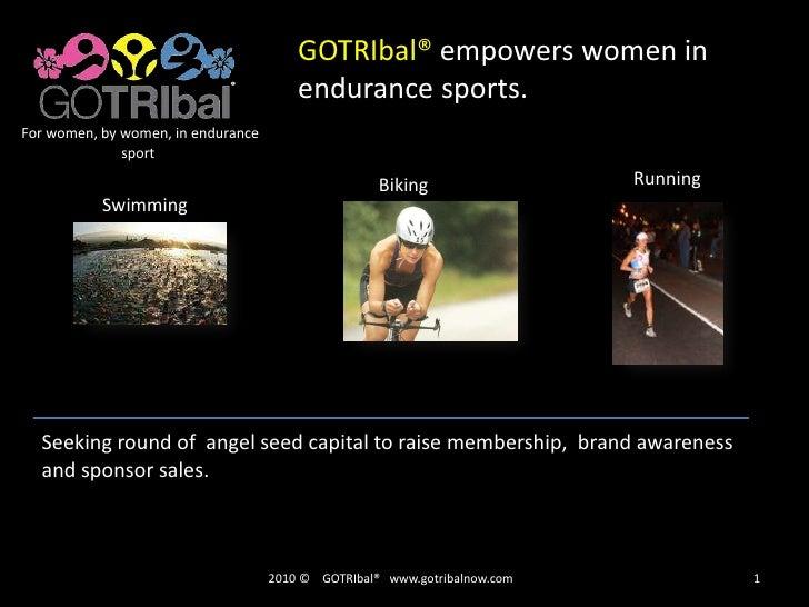 GOTRIbal® empowers women in endurance sports.<br />For women, by women, in endurance sport<br />Running<br />Biking<br />S...