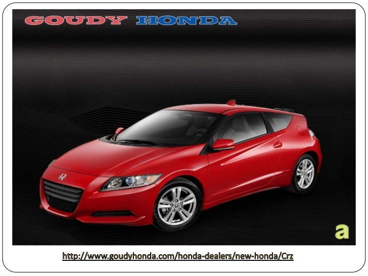 2012 Honda CRZ Los Angeles – sport Intersection with Sophisticated Suspension vehicle form Goudy Honda Los Angeles