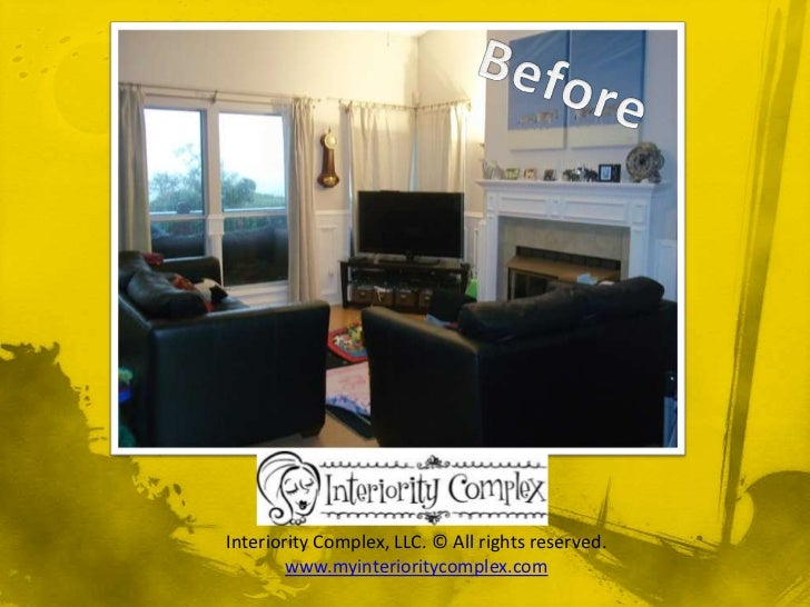 Interiority Complex Home Staging Before and After