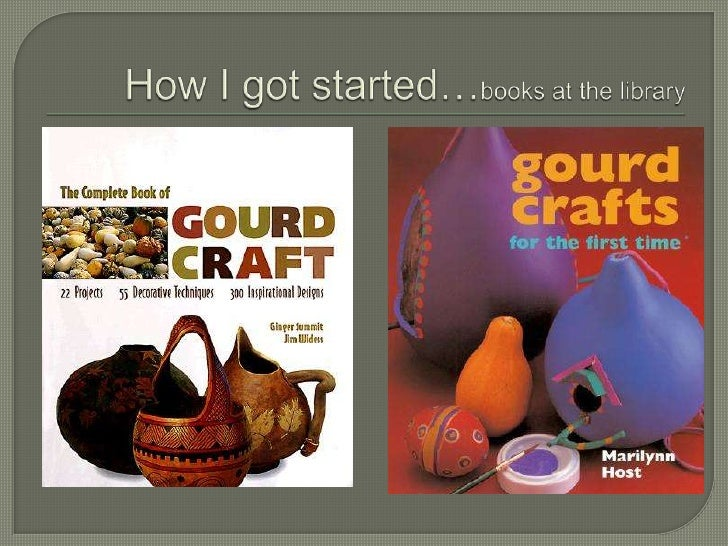 How I got started…books at the library <br />