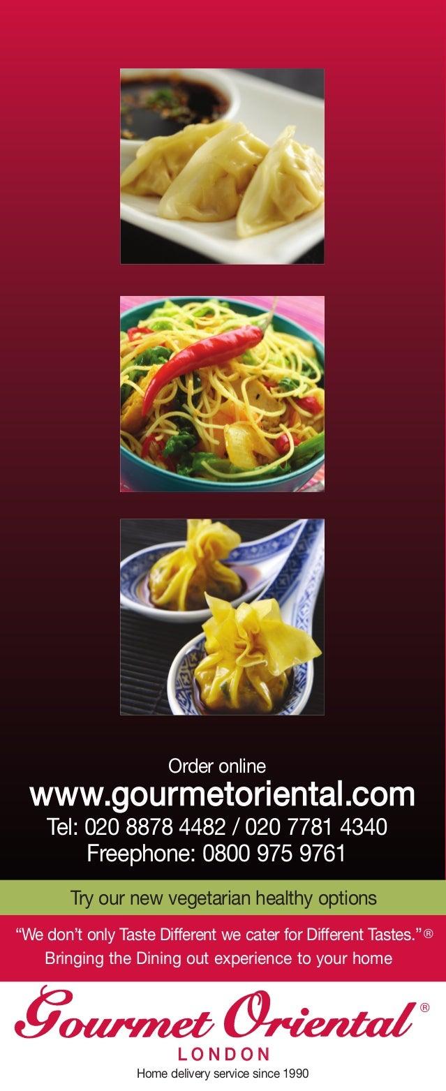 Gourmet Food Delivery Chelsea - Online Menu