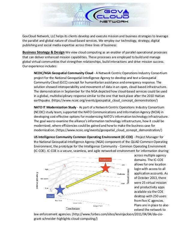 GovCloud Network LLC Overview - June 25, 2014