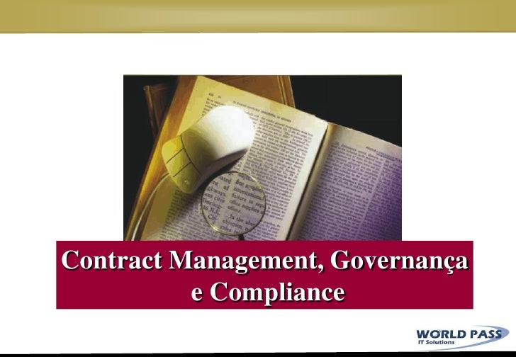 Governanca, Compliance e Contract Management