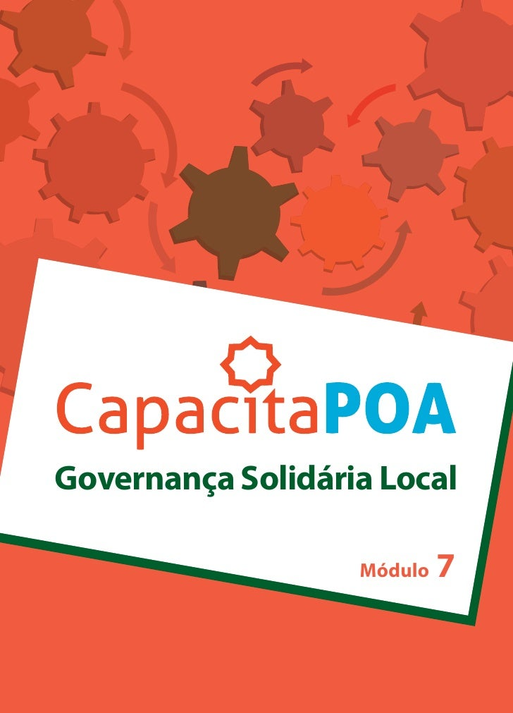 Cartilha - Governanca Solidária Local