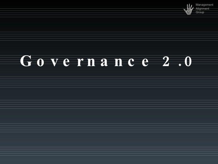 Governance.2.0