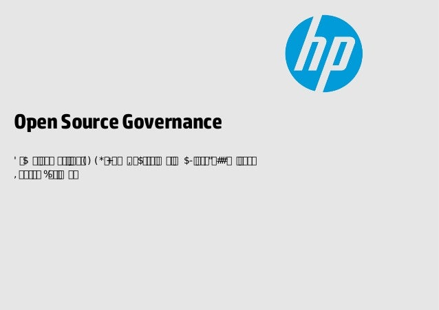 Open Source Governance v2.5