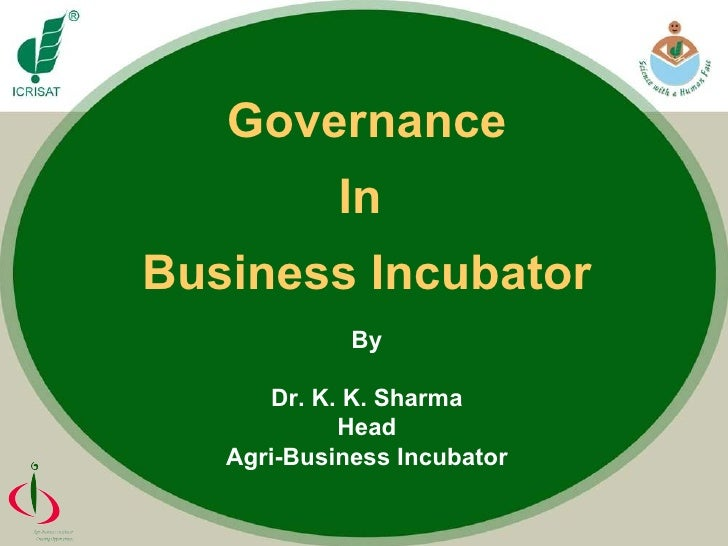 Governance of business_incubator