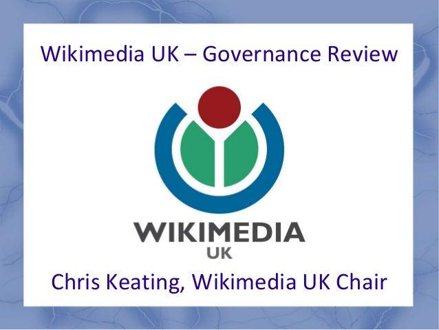 Governance review presentation