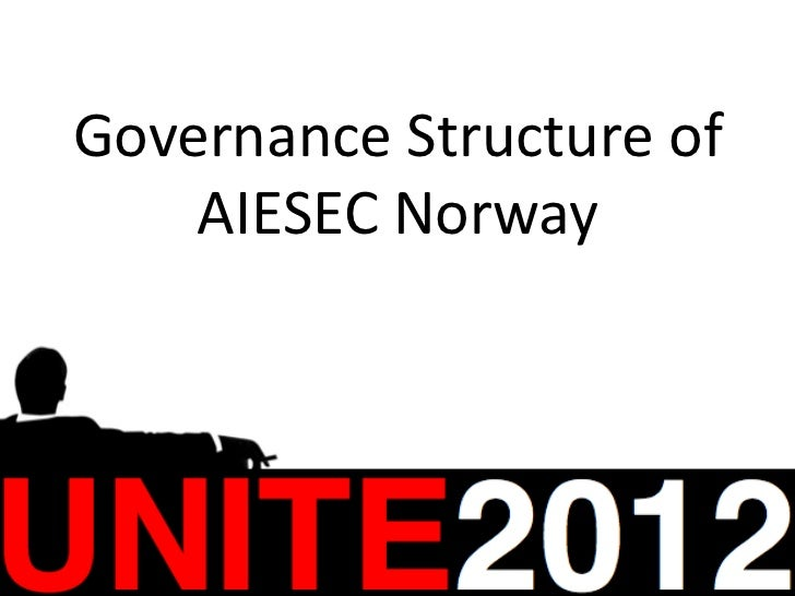 Governance Structure of    AIESEC Norway