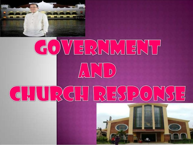 Governmanet and church response