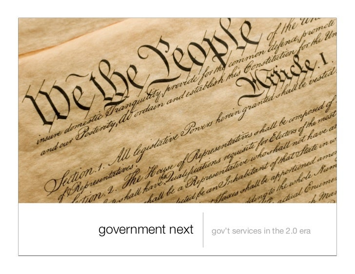 Government Next: NIC Presentation