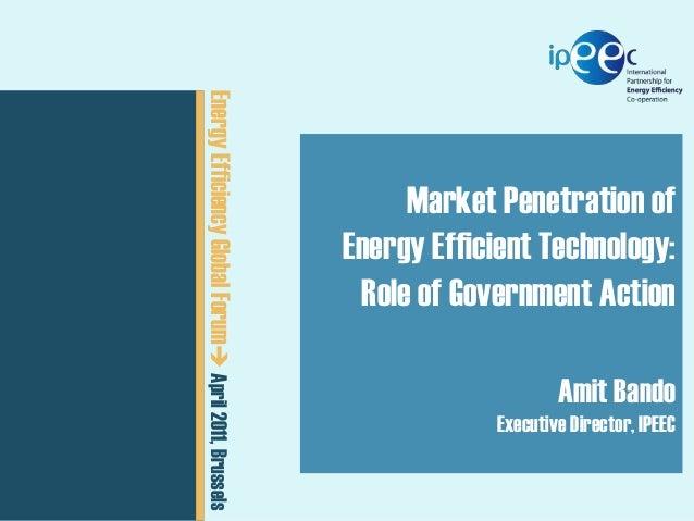 ExCo 05 // 20-22 September 2011  CEM02  Energy Efficiency Global15, 2011  April 2011, Brussels  February Forum  Presenta...