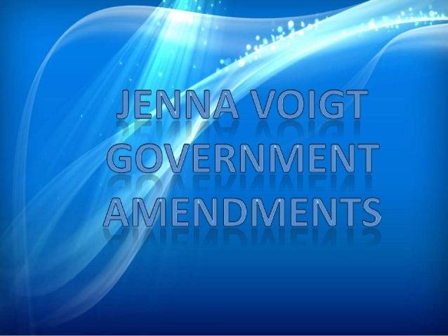 Government admendments