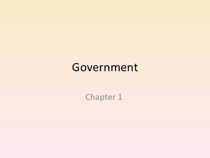 Government  1-1 and 1-3
