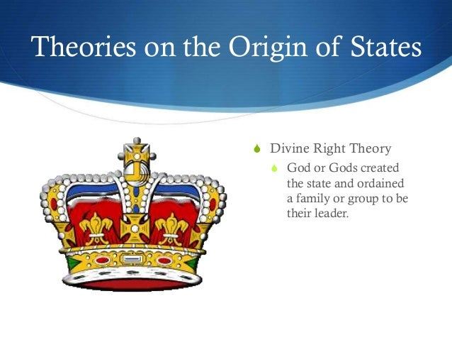 Divine Right Theory Essay Example - Essay for you