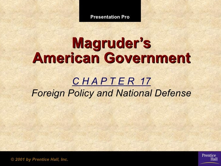 Government chapter 17 powerpoint