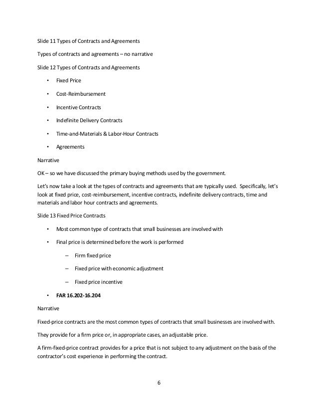 Contract Specialist Training Plan