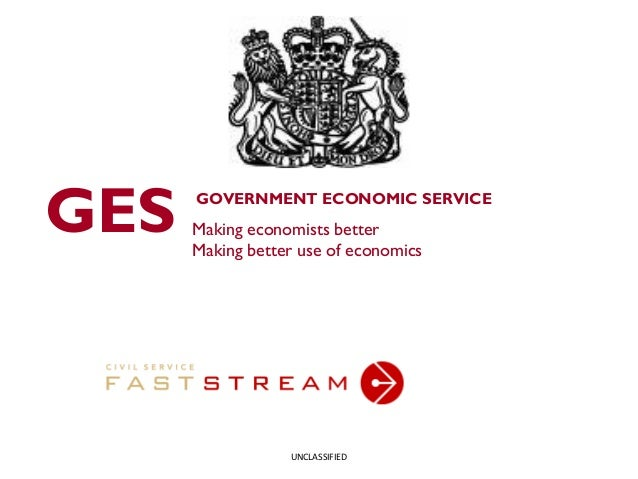 Government Economic Service and Applying for Fast Stream