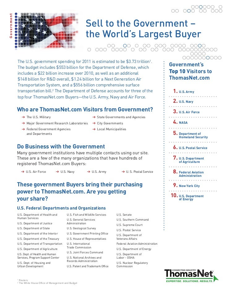Government Fact Sheet 2011