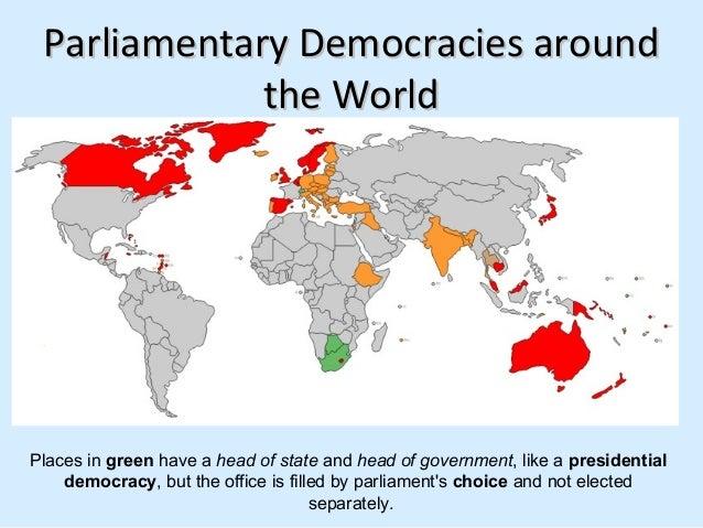 Democracies Around The World Democracies Around The
