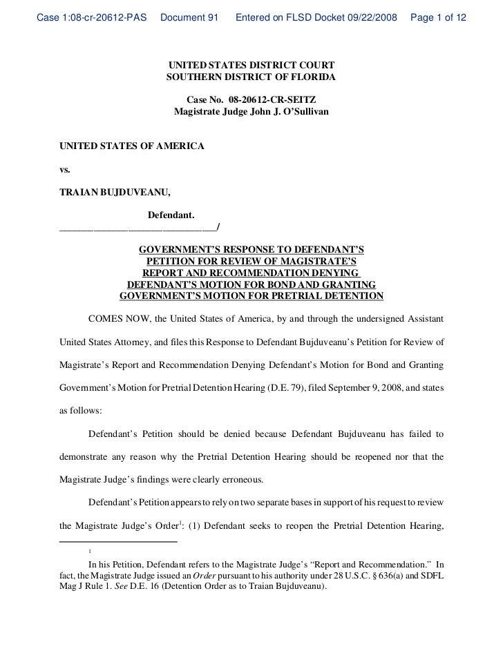 Case 1:08-cr-20612-PAS        Document 91         Entered on FLSD Docket 09/22/2008              Page 1 of 12             ...