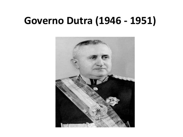 Governo Dutra (1946 - 1951)